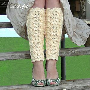 cables of love leg warmers: free #crochet leg warmers pattern xmjedxa