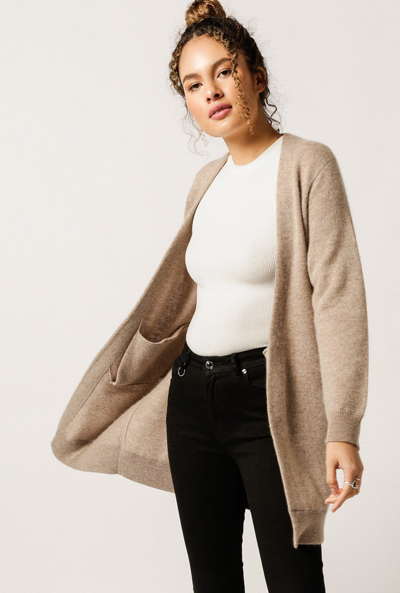 cashmere cardigan by monrow for sale at azalea krnxvis