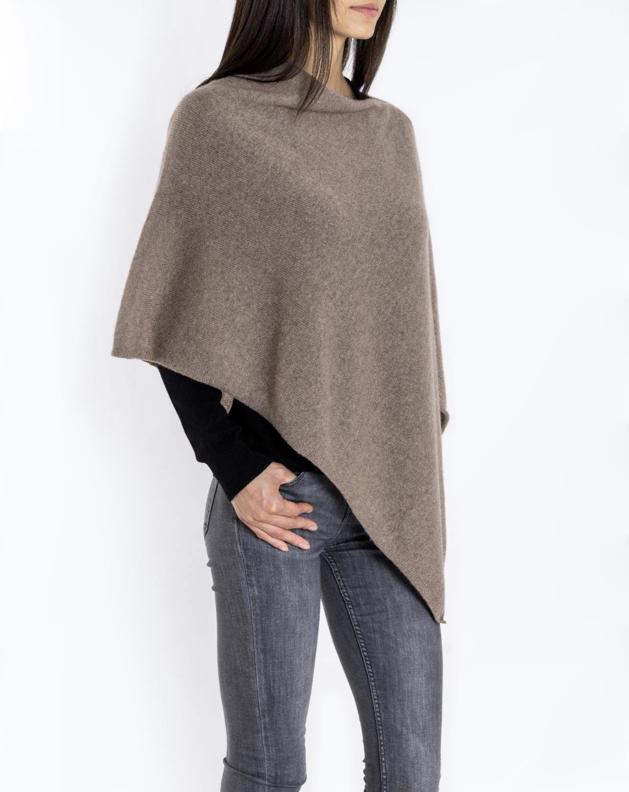 Cashmere poncho womenu0027s essential pure cashmere poncho gqkohsz
