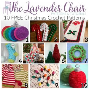 check out these free christmas crochet patterns for all sorts of fun things. eaomzrb
