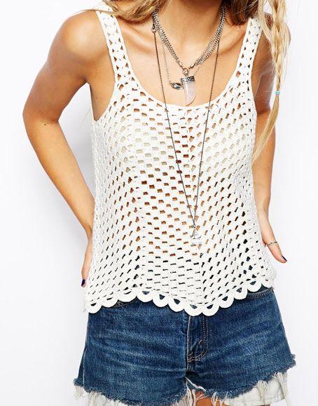chic crochet tank top 25+ best ideas about crochet tank tops on pinterest gnnutqj