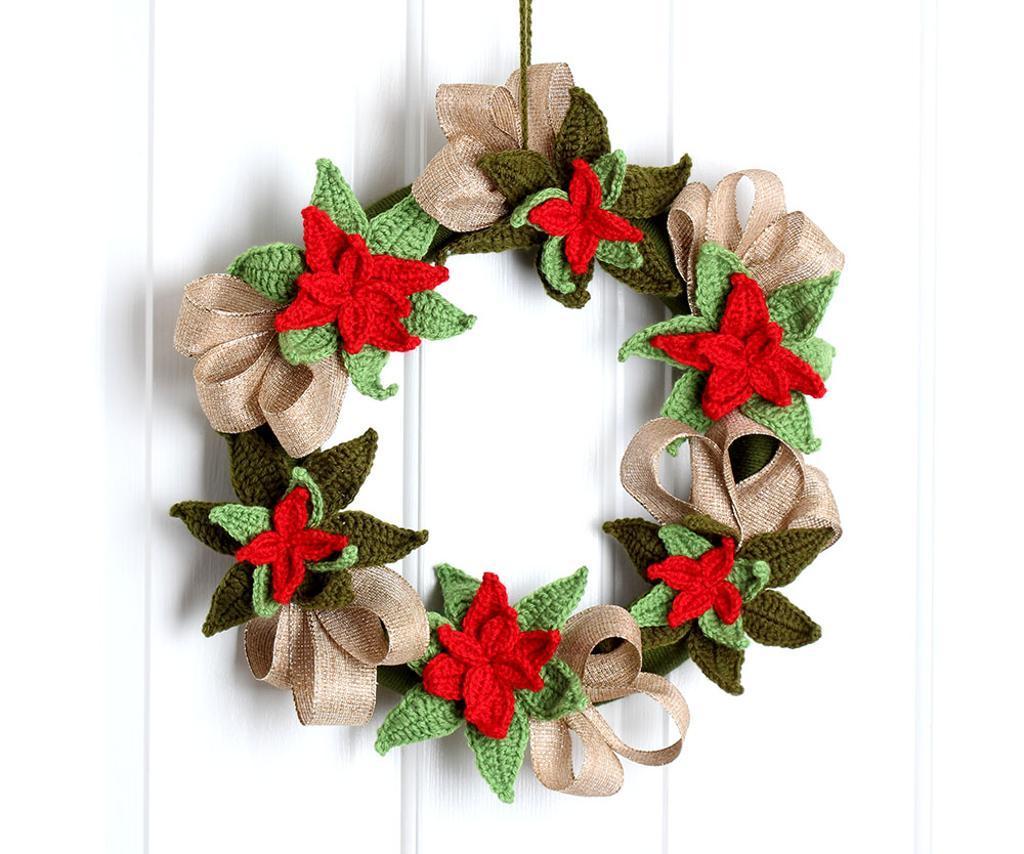 christmas crochet christmas wreath crochet pattern qkzutuh