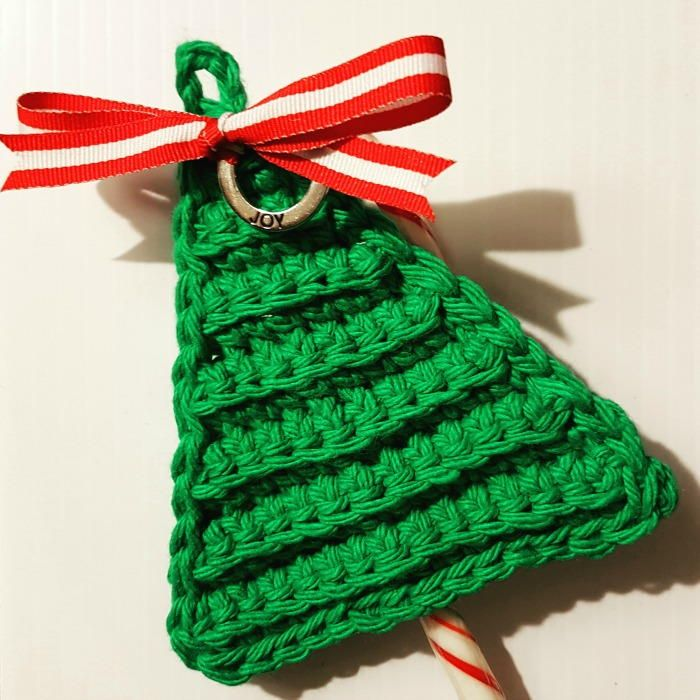 christmas crochet last minute candy cane holders aqturin