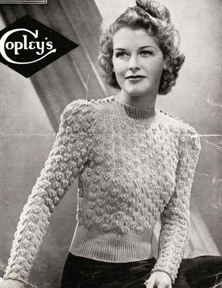 The Appeal Of Vintage Knitting Patterns