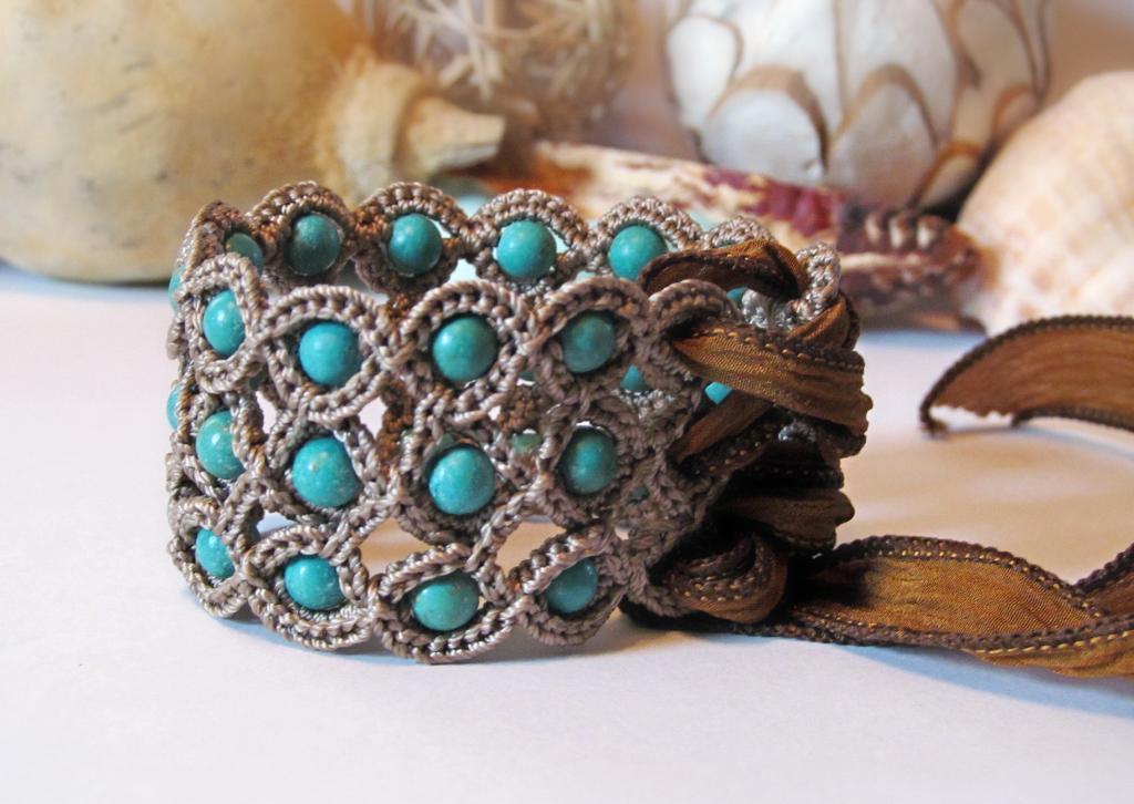 corset cuff crochet bracelet whulunn