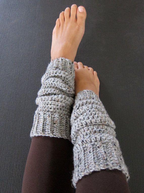 cozy grey crochet leg warmers by ajalove on etsy qharbog