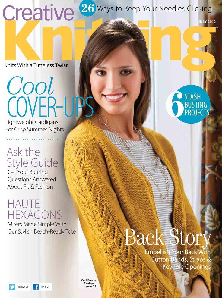 Creative Knitting Patterns creative knitting magazine contains stylish knitting patterns to inspire  your creativity and fryudvd
