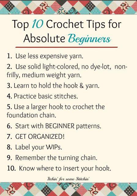 Crochet Abbreviations For Beginners the 10 best crochet tips for absolute beginners ergviyq