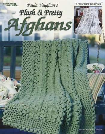 crochet afghan patterns plush u0026 pretty afghans (vaughan) - crochet patterns wlpgebc