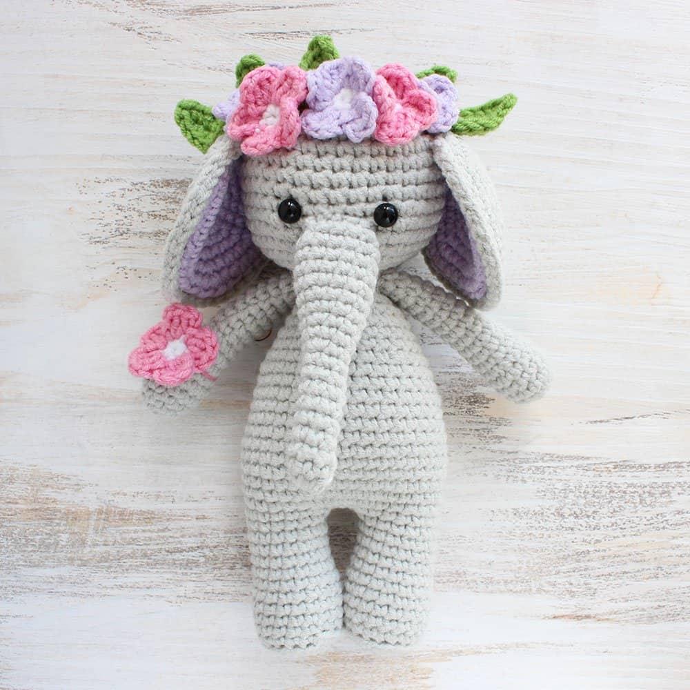 crochet amigurumi cuddle me elephant crochet pattern - amigurumi today yubgfno