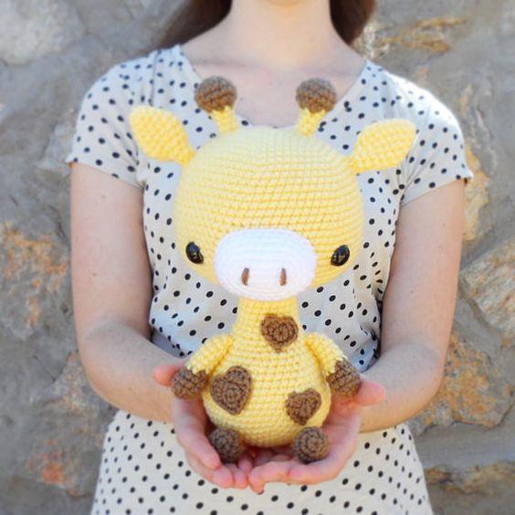 crochet amigurumi pattern: cuddle-sized giraffe amigurumi crocheted giraffe  zhmkiqi bgolypr