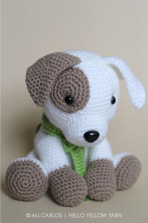 crochet amigurumi puppy dog pattern only jack by helloyellowyarn semqdlh