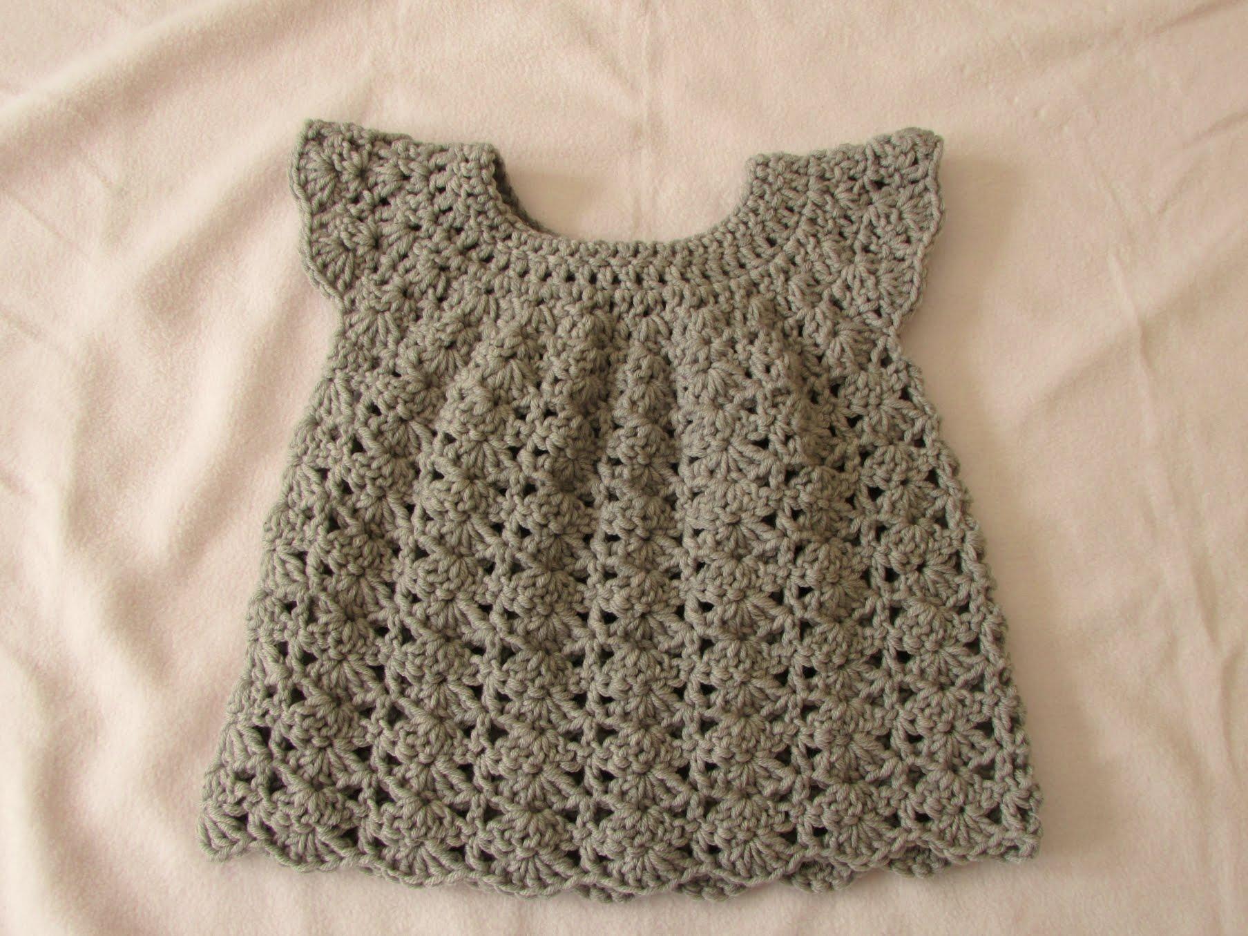 crochet baby dress how to crochet an easy shell stitch baby / girlu0027s dress for beginners semuzfg