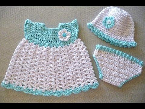 Crochet Baby Dress Pattern crochet baby dresses patterns htweqov