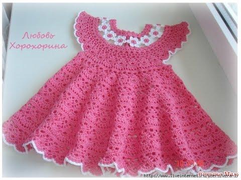 Crochet Baby Dress Pattern crochet patterns| for free |crochet baby dress| 585 vuuxkxi