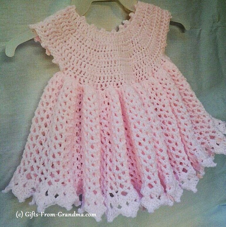 Crochet Baby Dress Pattern easy cute crochet baby dress pattern free crochet patterns baby sundress | yfhqwfy