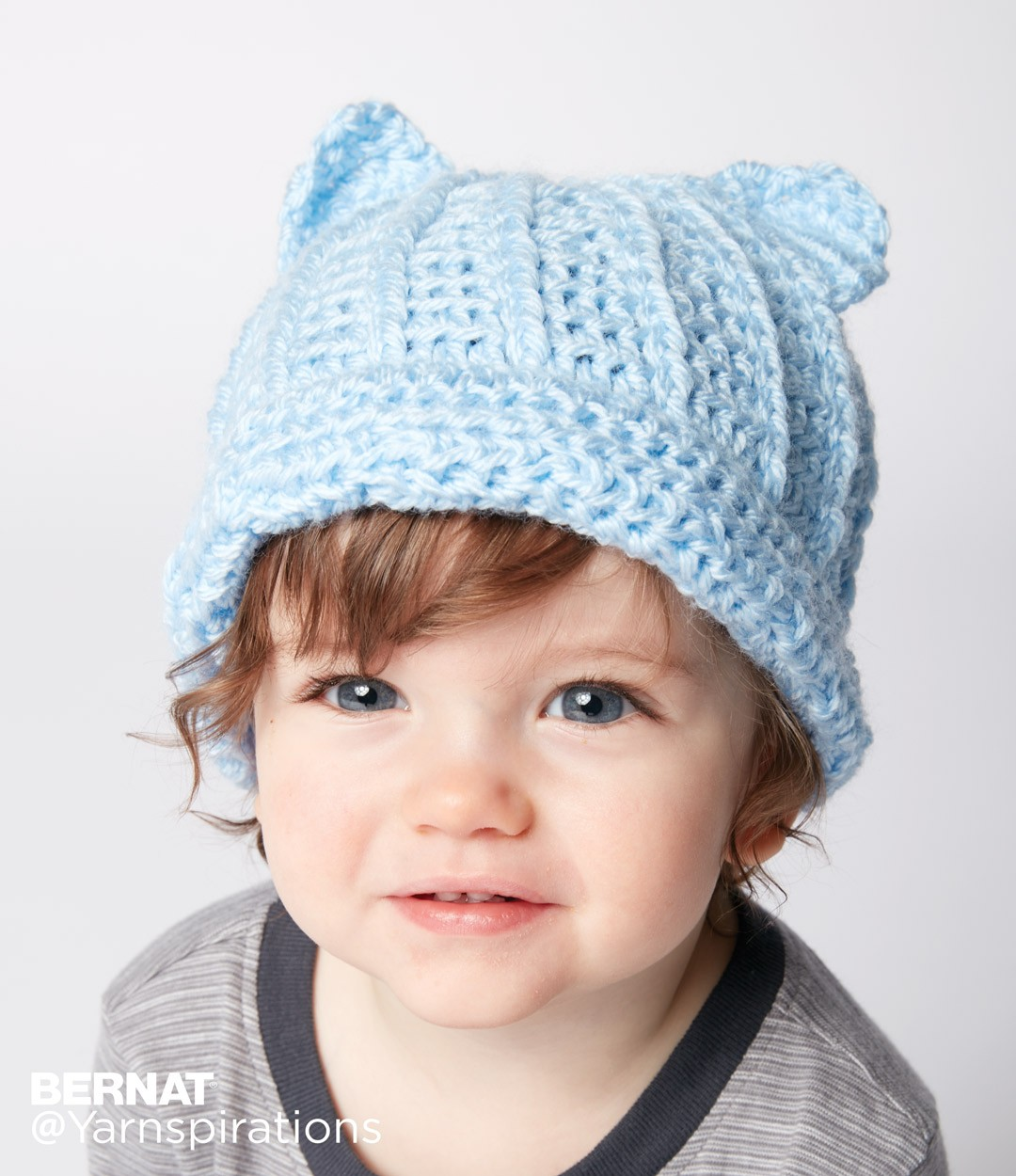 Making The Crochet Baby Hats