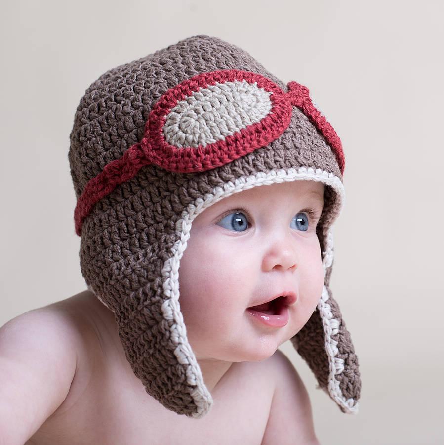 crochet baby hats hand crochet baby aviator hat vaxyvgg