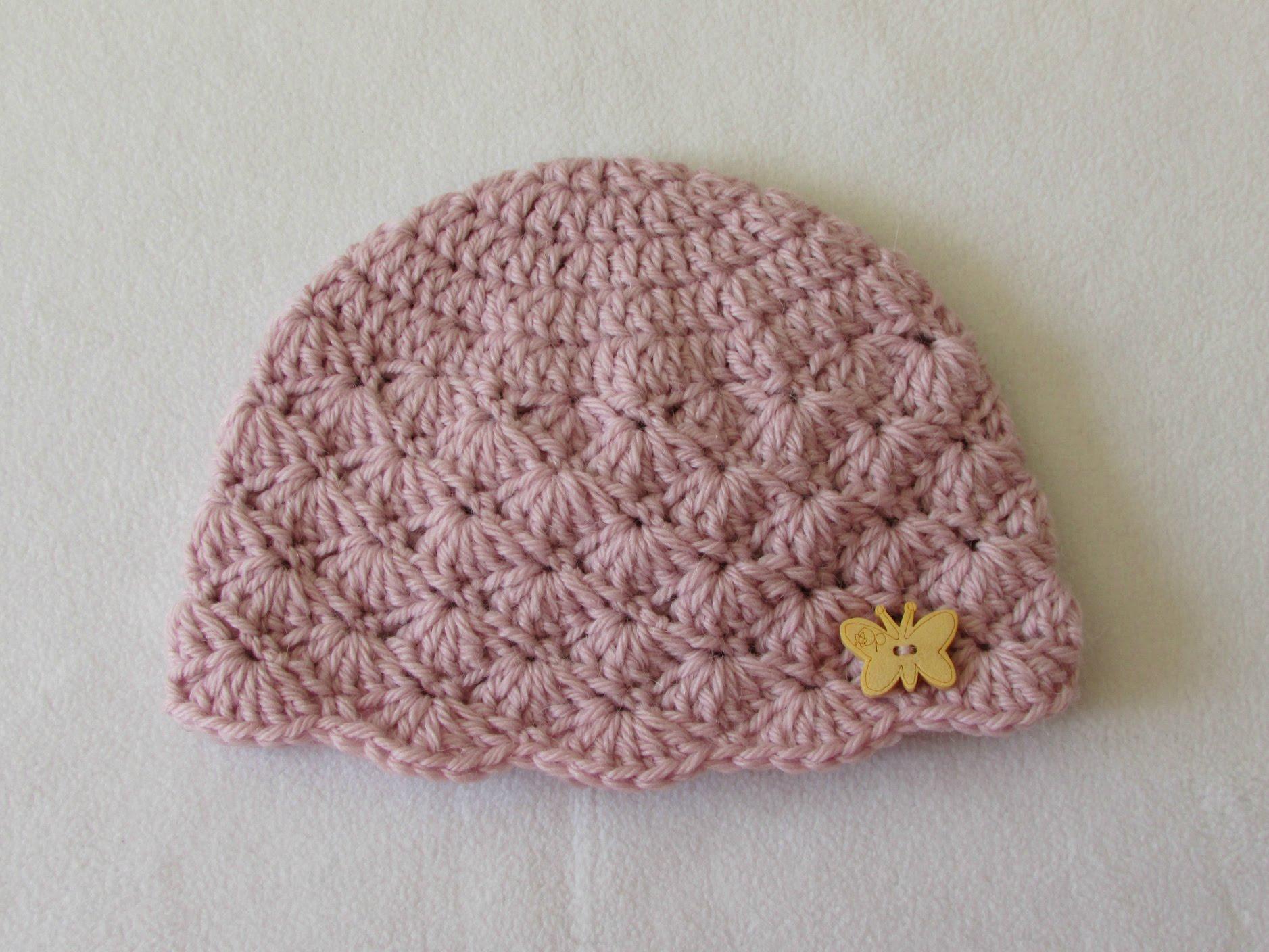 crochet baby hats how to crochet a cute baby girlu0027s hat for beginners - youtube intzxkf