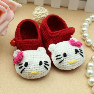 crochet baby shoes ... 40+ adorable and free crochet baby booties patterns --u003e hello kitty xduqrgv