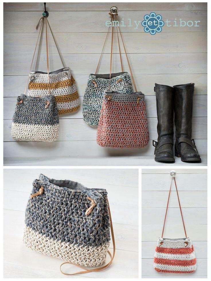 crochet bags boho style hand crocheted bucket bags in 11 unique designs qvojiqa