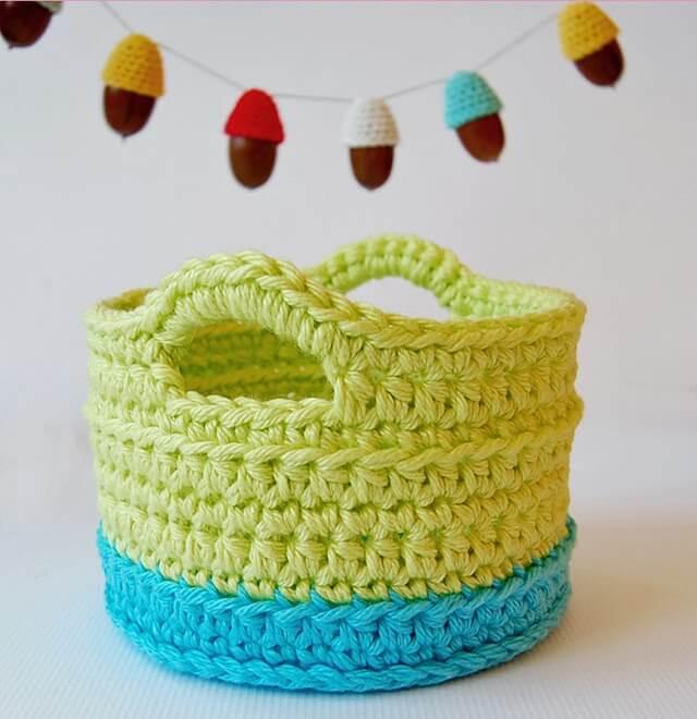 crochet basket pattern crochet basket with handles free pattern icjnwuz