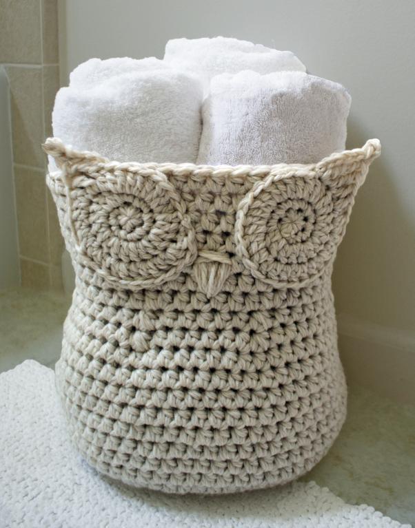 Crochet basket pattern – Cute Looking Crochet Basket Pattern