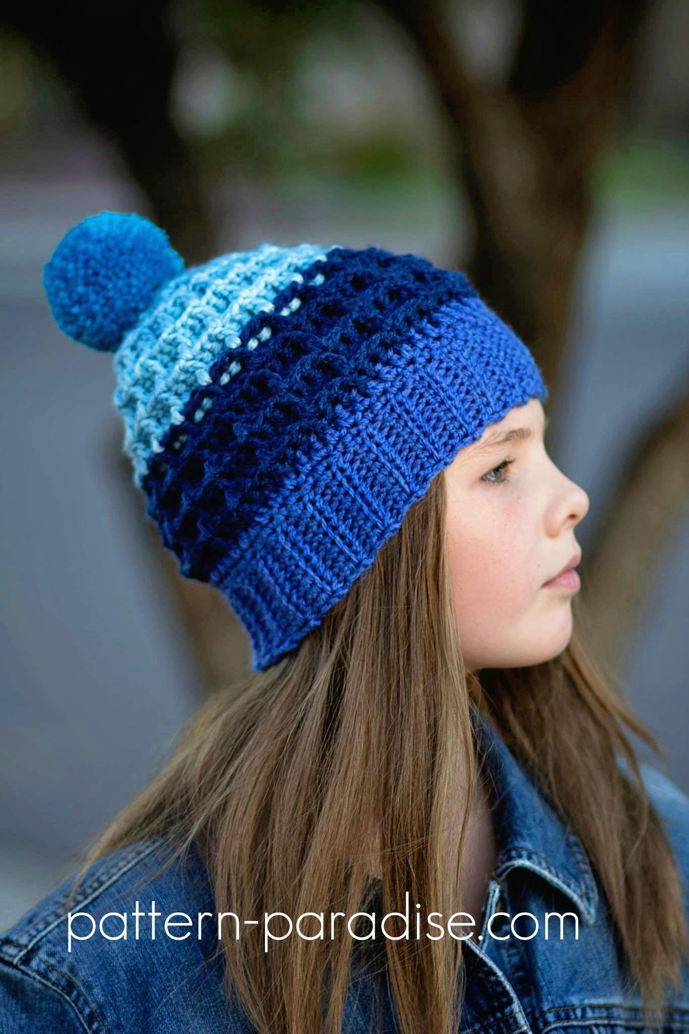 crochet beanie free crochet pattern: alpine nights beanie   pattern paradise jcdrtok