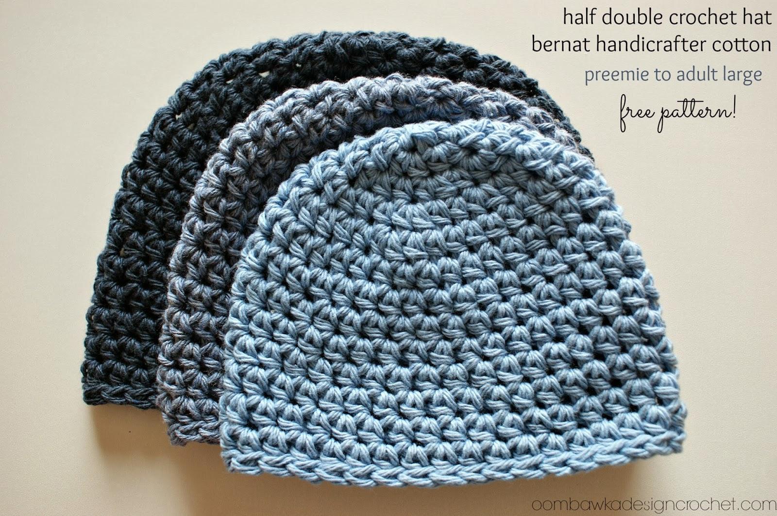 Crochet Beanie Pattern half double crochet hat pattern jigxvjd