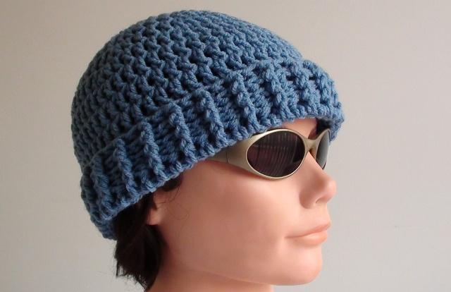 Crochet Beanie Pattern menu0027s crochet beanie rszdcln