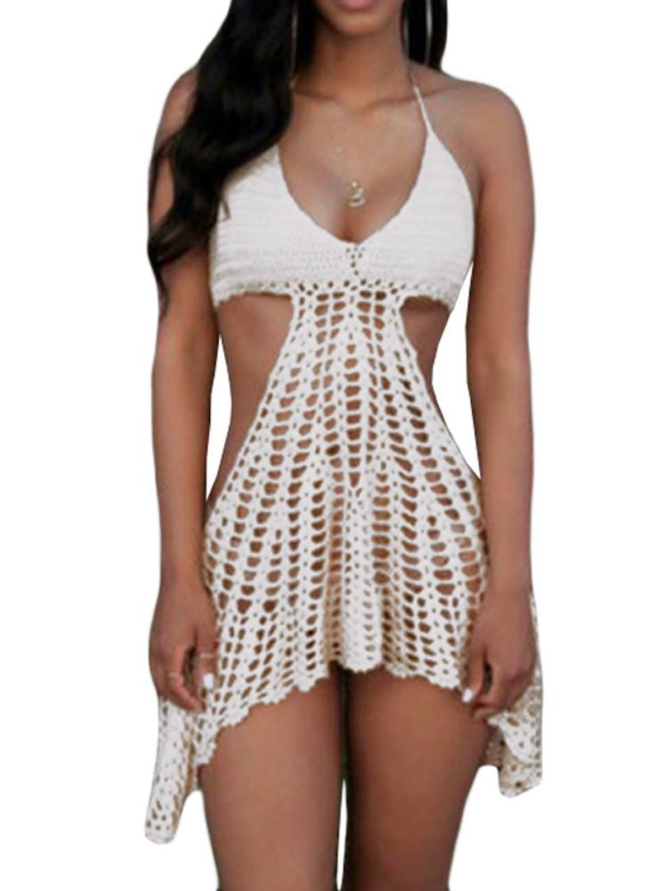 crochet bikini top cover up dress xtlnmbd