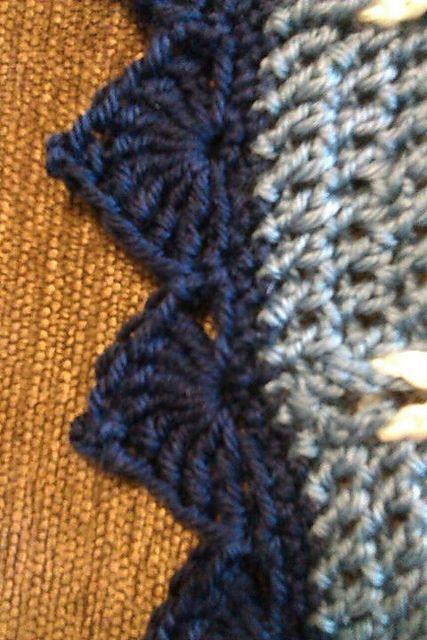 crochet blanket edging cathedral edging: free crochet pattern hdvrlqa