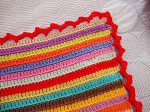 crochet blanket edging stripey blanket edging :: free #crochet edging patterns! bjsbkuf