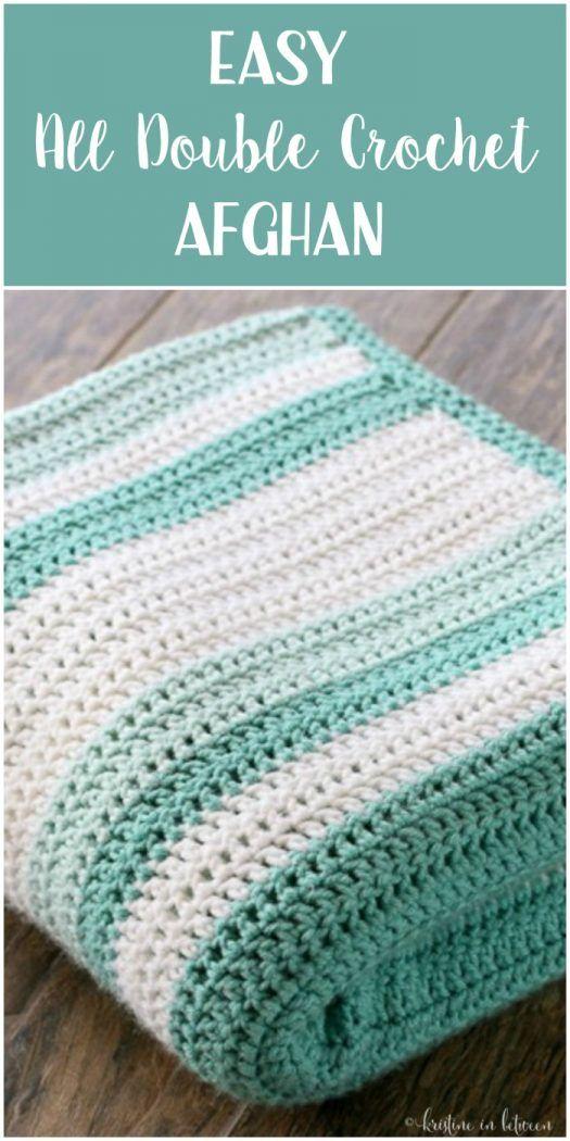 Crochet Blanket Patterns all double crochet afghan zdduufe