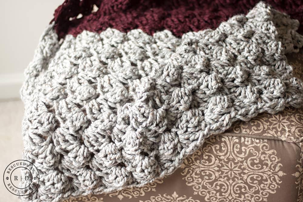 Crochet Blanket Patterns charlotte crochet blanket pattern - free crochet pattern by rescued paw  designs nhizmql