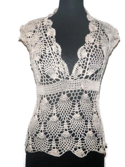 crochet blouse like this item? jevglgz