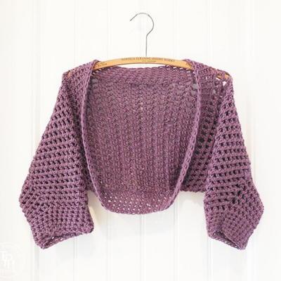 crochet bolero gorgeous crochet shrug patterns hwrevno