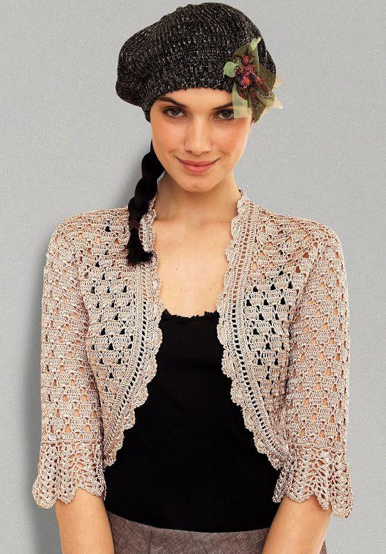 Crochet bolero – Fashionable Crochet Bolero for Women