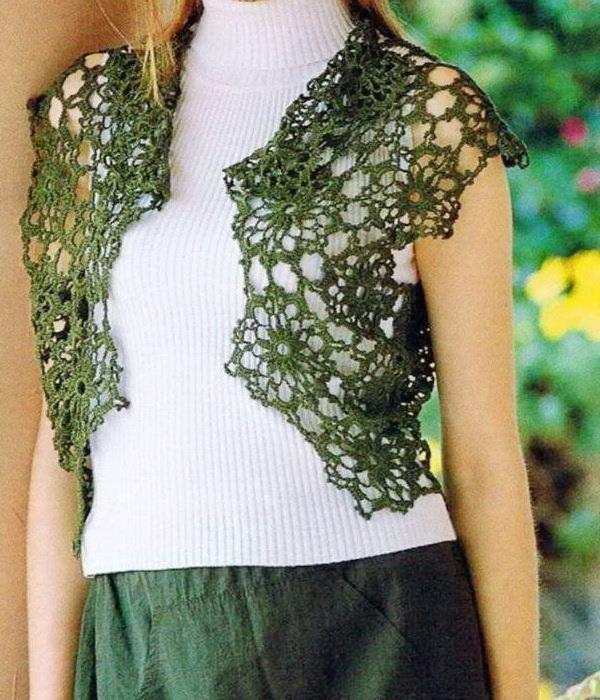 crochet bolero pattern - amazing lace bolero zpslwko