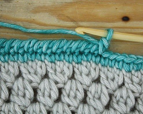 Crochet borders pinterest: what the did with crochet borders made peachy tikjeel