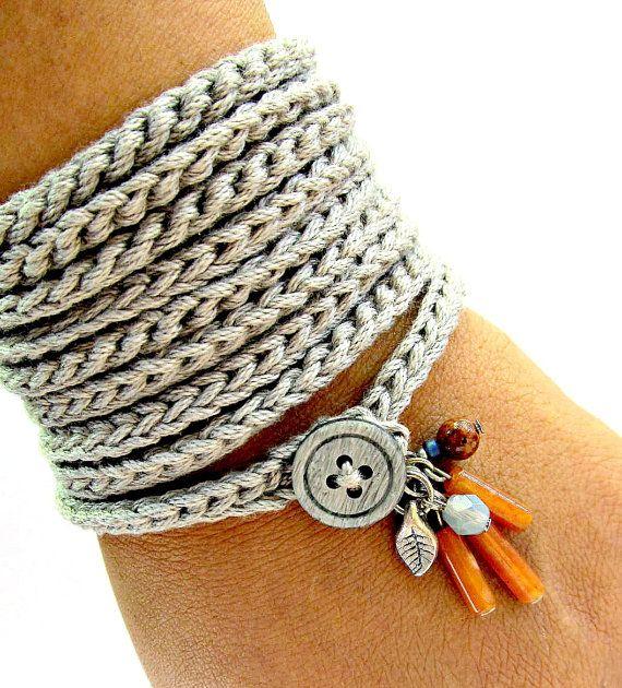 Crochet bracelet- An accessory worth having