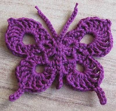 crochet butterfly butterfly crochet pattern pembsjh