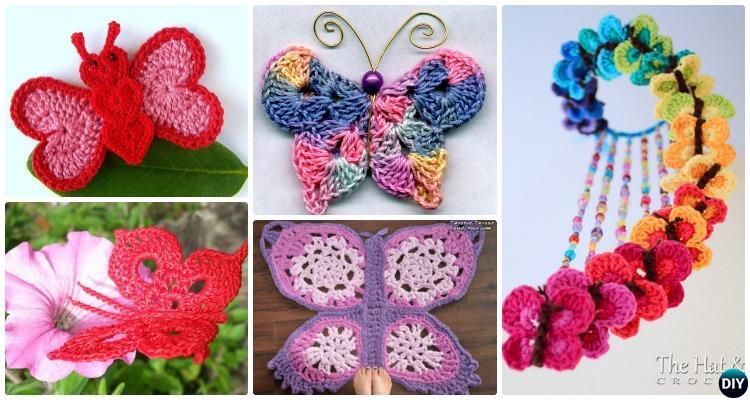 crochet butterfly pattern 20 crochet butterfly free patterns mfptikz
