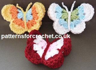 crochet butterfly pattern blankets hifusds