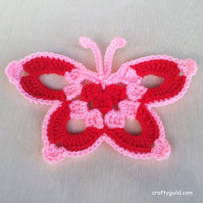 crochet butterfly pattern butterfly crochet rmbnvpt