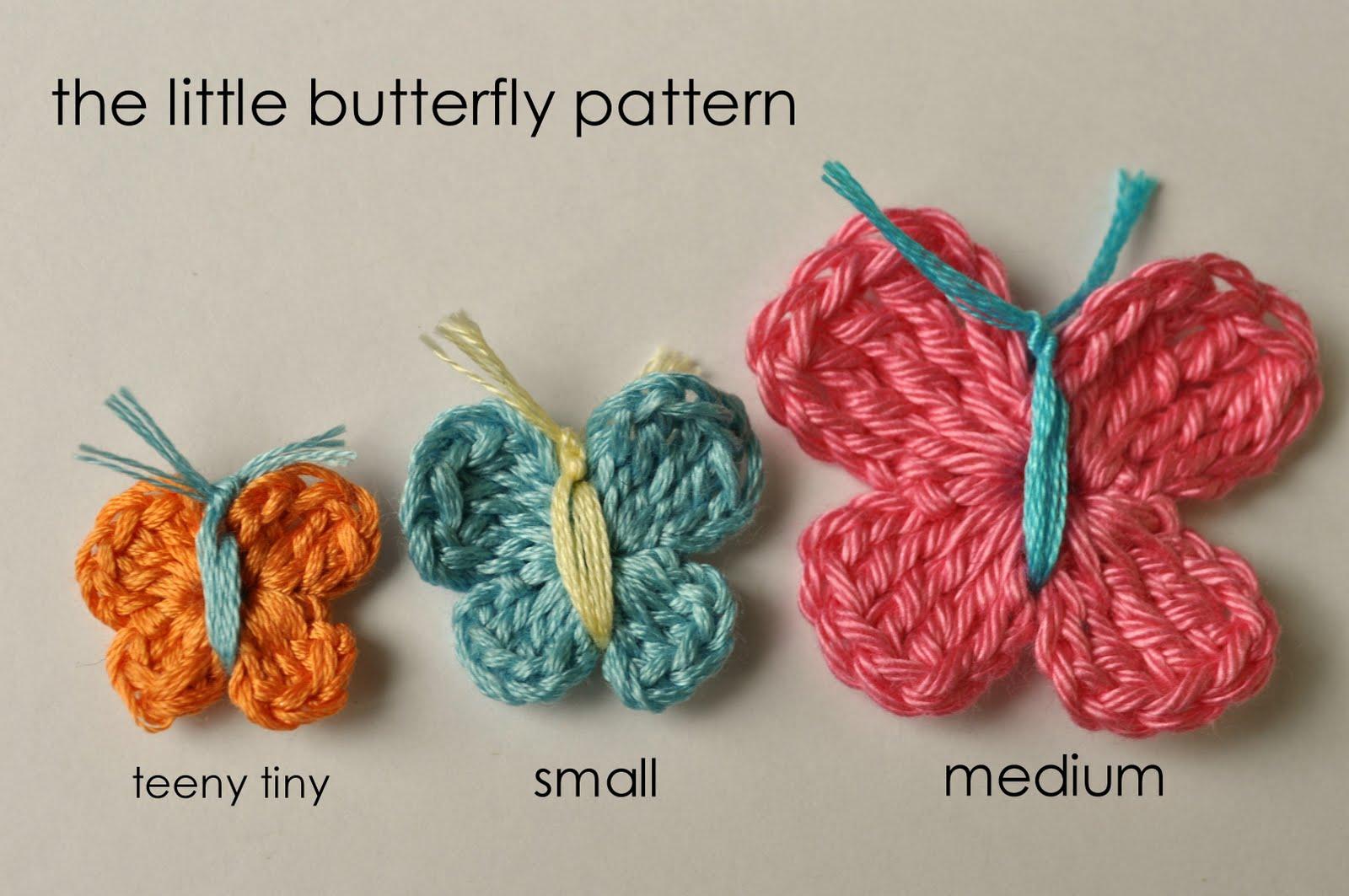 crochet butterfly pattern teeny tiny butterfly crochet pattern mpslilk