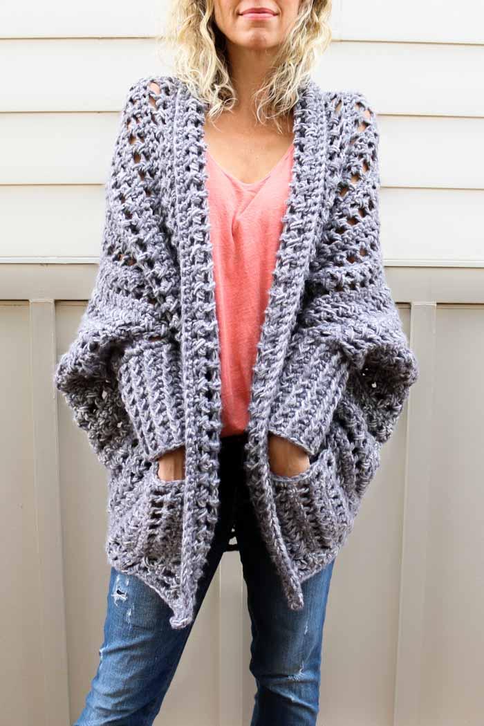 Easy Crochet Cardigans