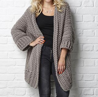crochet cardigan pattern ravelry: the big chill cardigan pattern by simone francis yvkuhwr