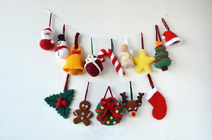 crochet christmas ornaments 14 christmas ornaments crochet pattern ptvugxg