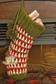 crochet christmas stocking crochet stocking pattern instant download by speckledfrogcrochet jbwoaxt